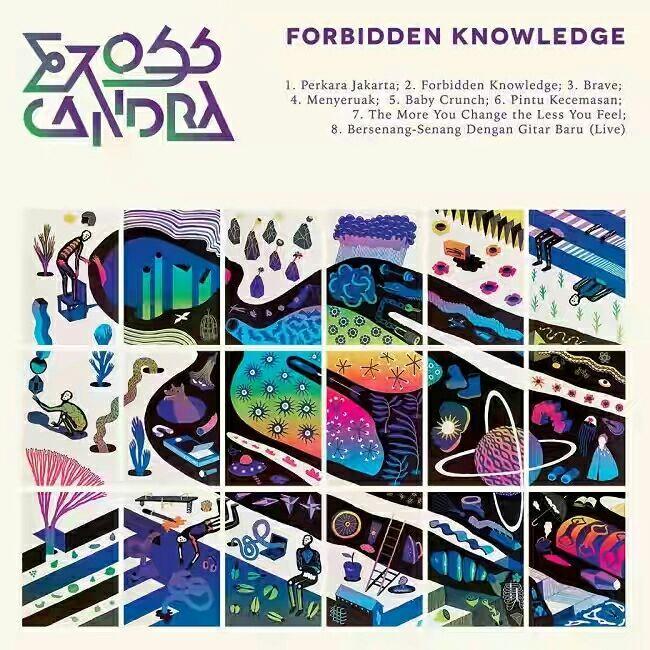 EROSS CANDRA - THE STORY OF FORBIDDEN KNOWLEDGE(LIVE TAMAN BUDAYA YOGYAKARTA)