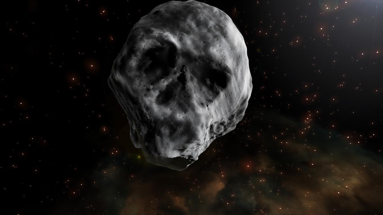 Siap-Siap, Asteroid Tengkorak Kembali Menghantui Bumi pada 2018