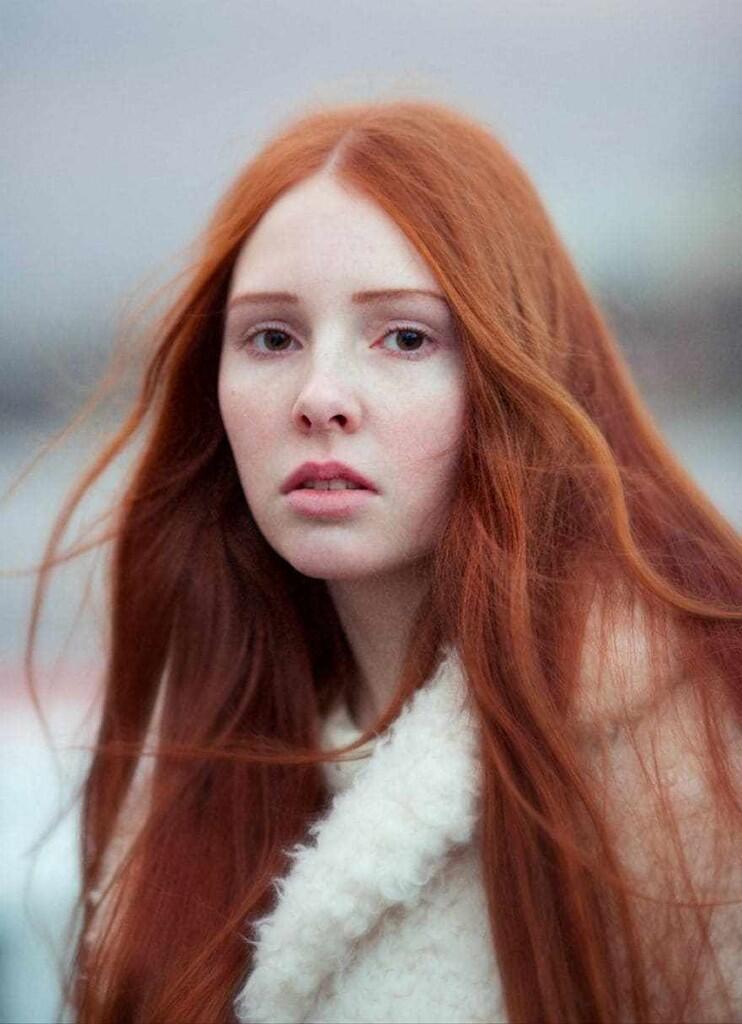 Keindahan Rambut Merah Yang Datang Dari Ras GINGER