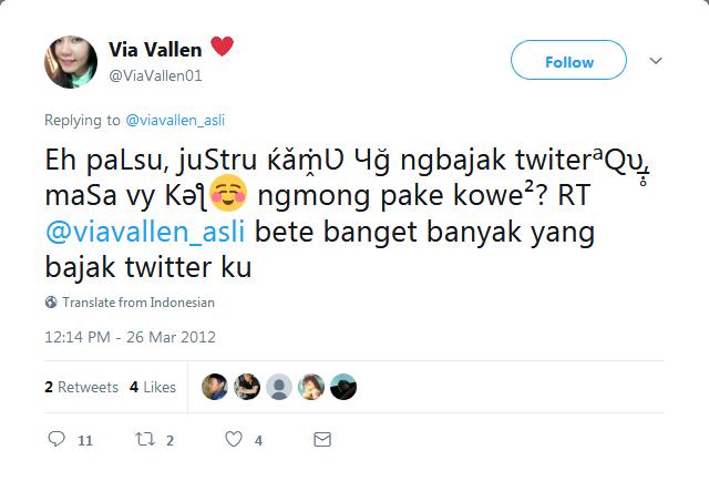 Kepoin Tweet Lawas Via Vallen Yuk!