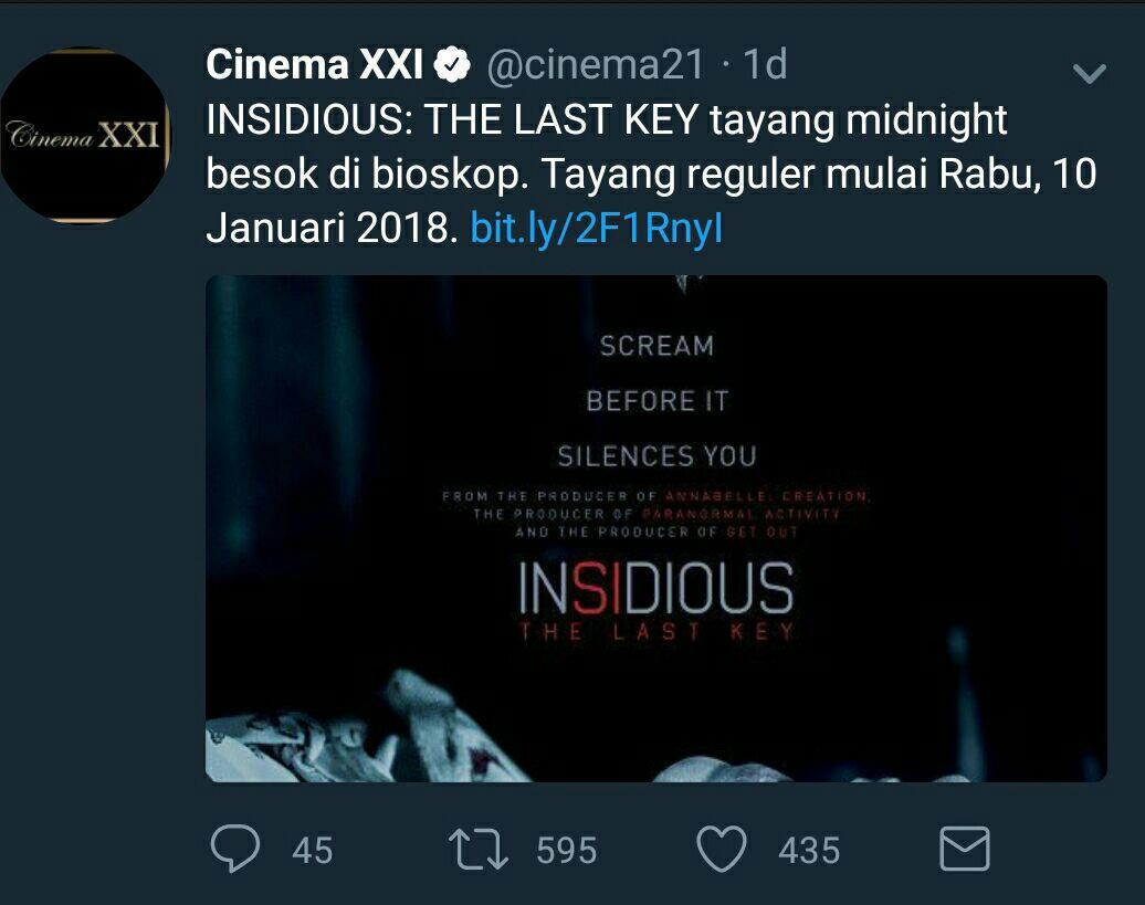 Insidious The Last Key 2018 Insidious Chapter 4 Page 7 Kaskus