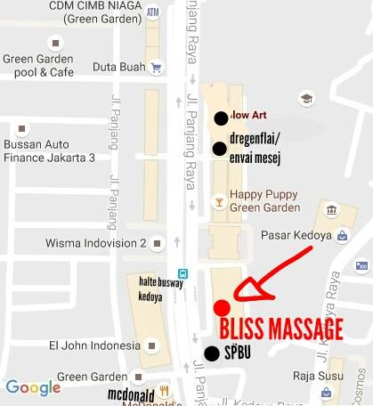 *NEW* BLISS MASSAGE (BM+BJ) GREENGARDEN, DEPAN HALTE BUSWAY KEDOYA, JAKARTA BRT - Part 1
