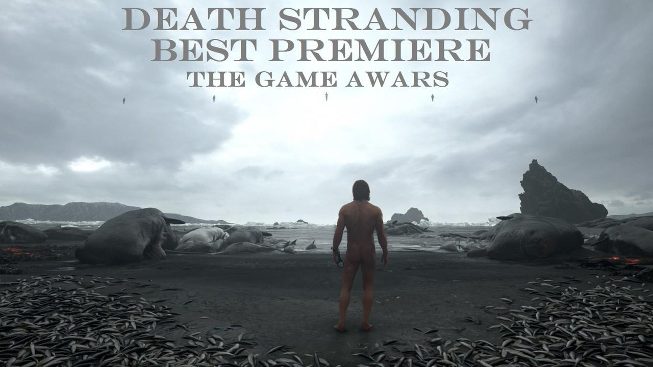 NEW GAME 2018 DEATH STRANDING (BEST WORLD PREMIERE - THE GAME AWARDS)