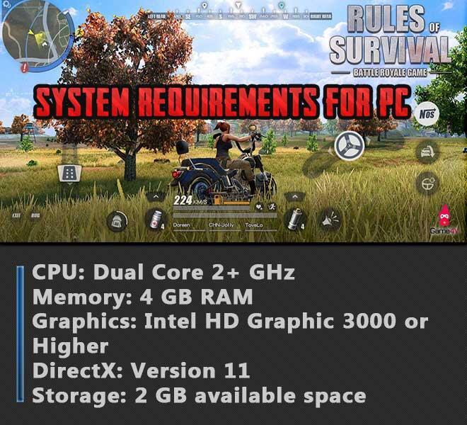 Rules of Survival [PC Server/Client]