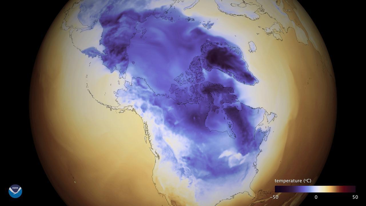 Ini Citra Satelit Ciamik yang Tangkap Badai Bom Siklon di Amerika