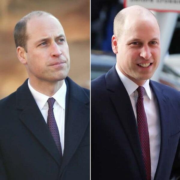 Dibalik Penampilan Rambut Baru Nyaris Plontos Pangeran William  dd56833858