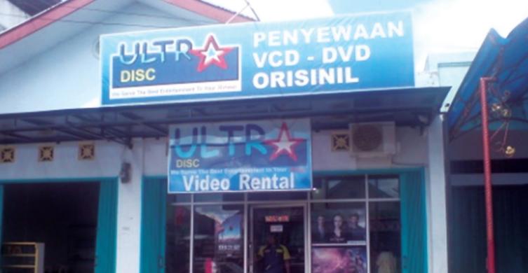 Ultra Disc, Rental Film yang Sempat Jadi Primadona [Nostalgia]