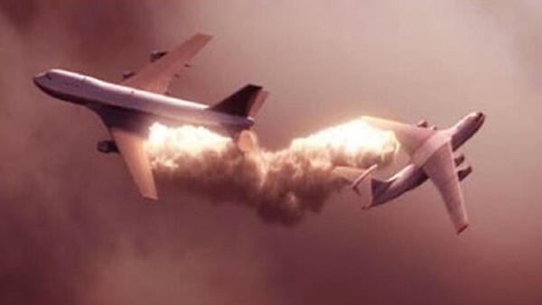6 Tabrakan Pesawat di Udara Paling Mematikan