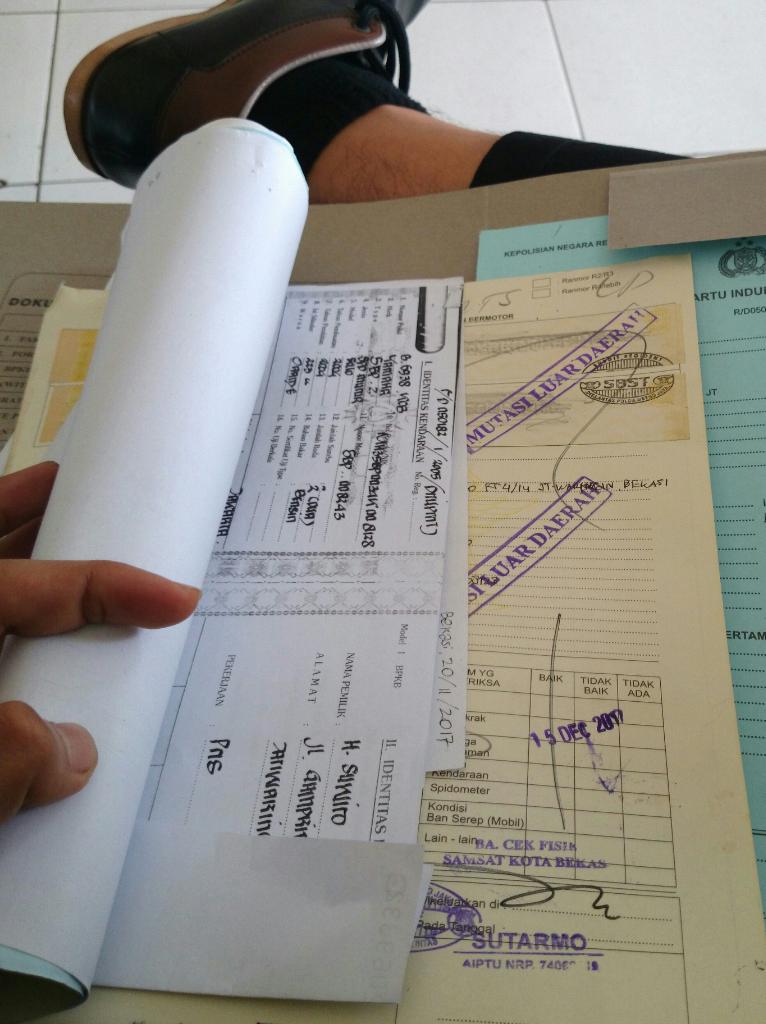 Mutasi Cabut Berkas Tanpa Calo Antar Provinsi Jabar Bekasi