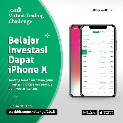 Stockbit Virtual Trading Challenge 2018. Belajar Investasi ...