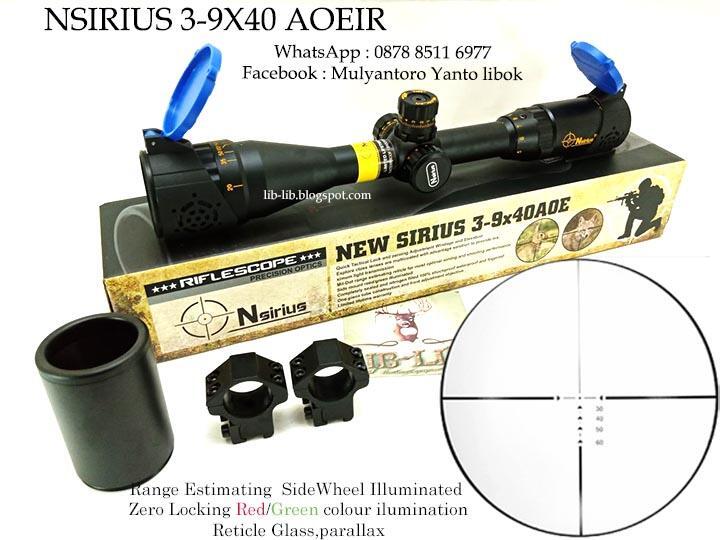 Jual scope Retarget berbagai type & ukuran