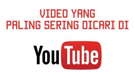 15 JENIS Video Yang PALING BANYAK DICARI di YouTube