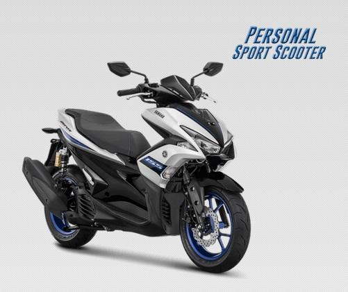 Tampilan dan Wajah Baru dari Yamaha Aerox, Dijamin Ngiler Gan!