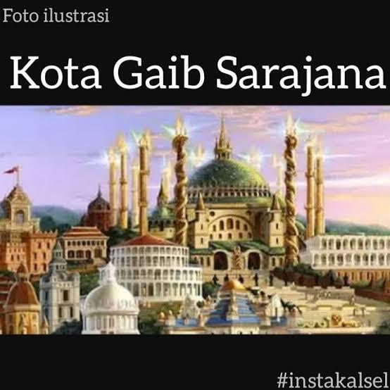Kota Saranjana, Kota Ghaib Di Kalimantan