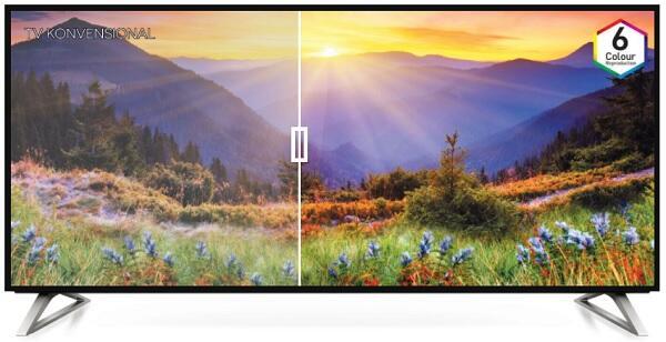 Panasonic Smart 4K TV, Berbekal Hexa Chroma Bikin Nonton Serasa Nyata