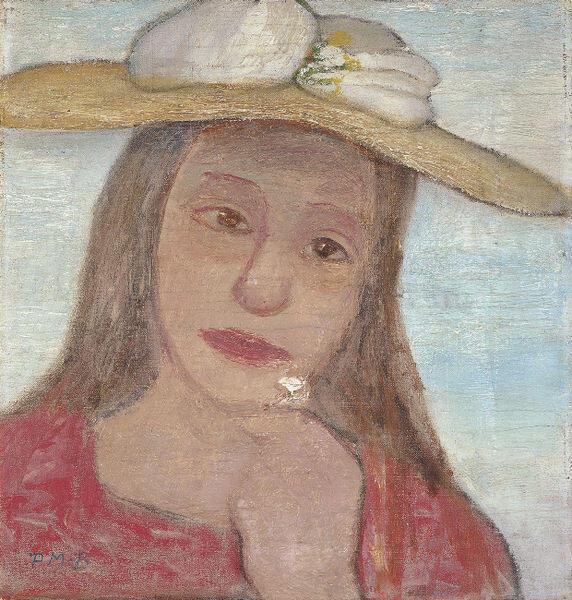 Paula Modersohn-Becker, berdiri tanpa busana