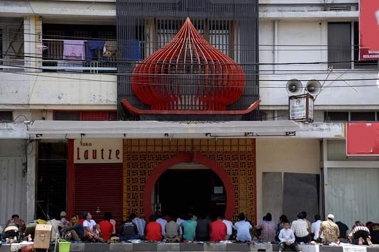 "Uniknya masjid-masjid di Indonesia bertema ""oriental"""