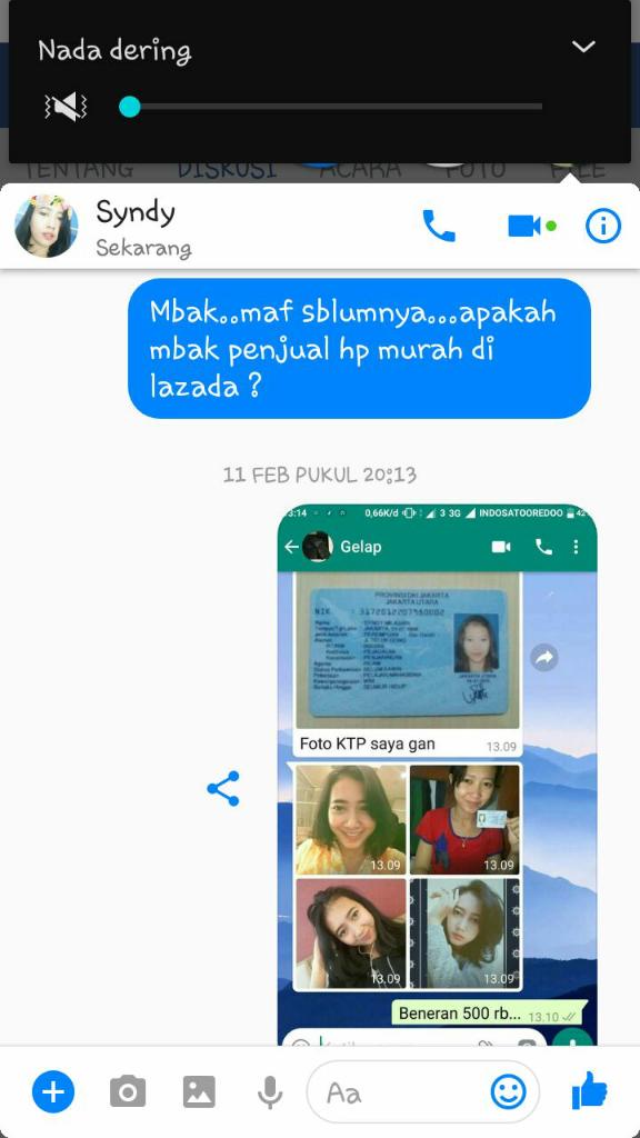 Penipu Di Lazada Lewat Whatsapp Kaskus