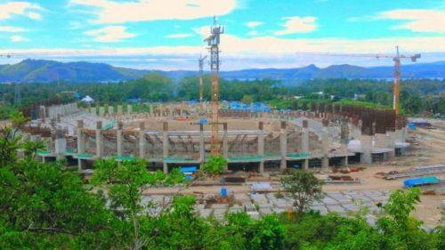 Melihat Pembangunan Stadion Papua Bangkit yang Akan Menyaingi GBK