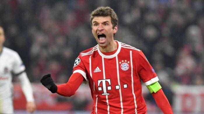 Data Statistik: Bayern Muenchen Tak Pernah Kalah Setiap Kali Thomas Mueller Bikin Gol