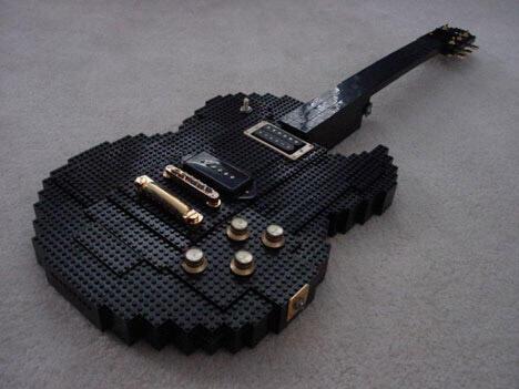Desain Gitar Yang Paling Unik Dan Kreatif