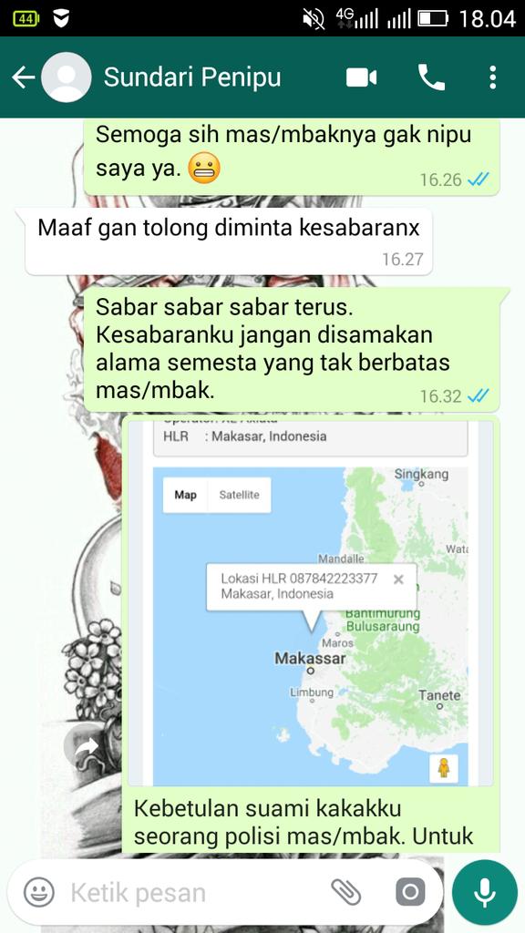 Mengerjai Sundari Olshop Si Penipu Online