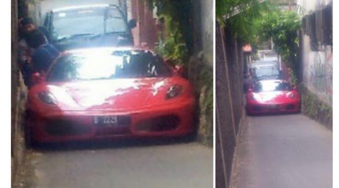 Lewat Jalan Tikus, Mobil Masih Maksa Masuk. Kewalahan yang Ada!