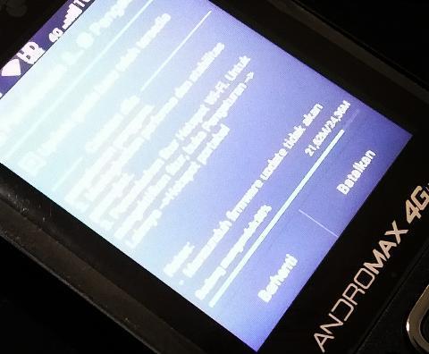 Tips Mengubah Andromax Prime 4G LTE menjadi Jaringan Hotspot