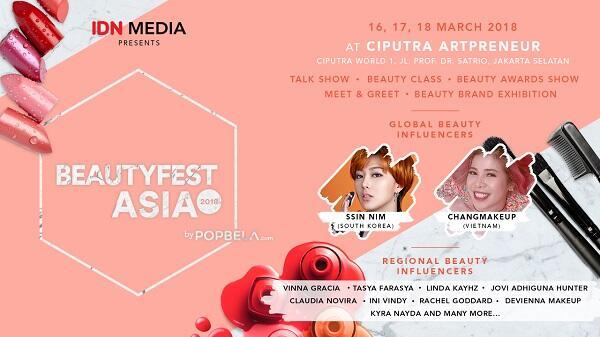 Buat Dirimu Makin Percaya Diri Lewat Beautyfest Asia 2018