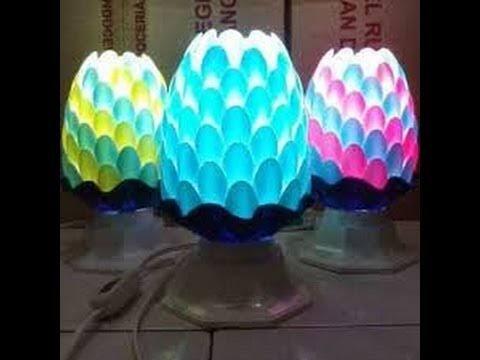 Kreatif  Membuat Lampu Hias Dari Sendok Plastik c52c3f4530