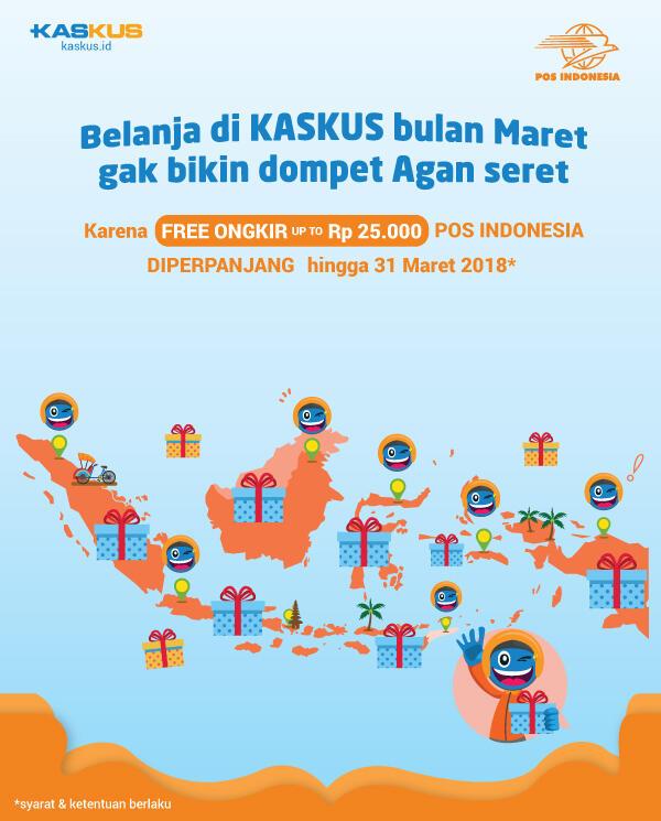 Asyik, Belanja Gratis Ongkir Dengan Pos Indonesia Diperpanjang Hingga 31 Maret 2018