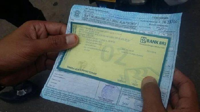 Polisi Dapat Insentif Rp 10 Ribu dari Setiap Lembar Surat Tilang yang Dikeluarkan