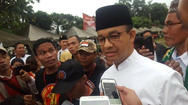 Anies Telat ke Deklarasi Prabowo Capres: Saya Pikir Masih Ada Orang