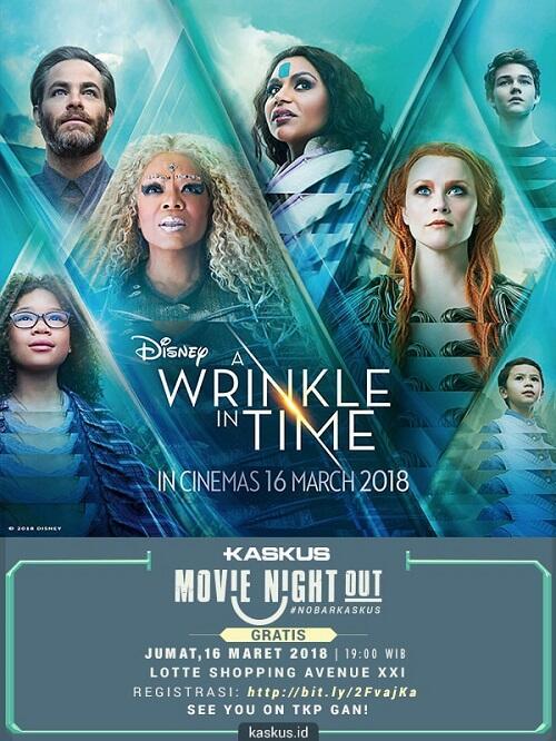 Waktunya Movie Night Out Bareng KASKUS!