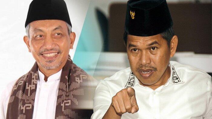 Image result for Begini Perdebatan Syaikhu Vs Dedi Mulyadi Soal Pohon Ditutupi Kain