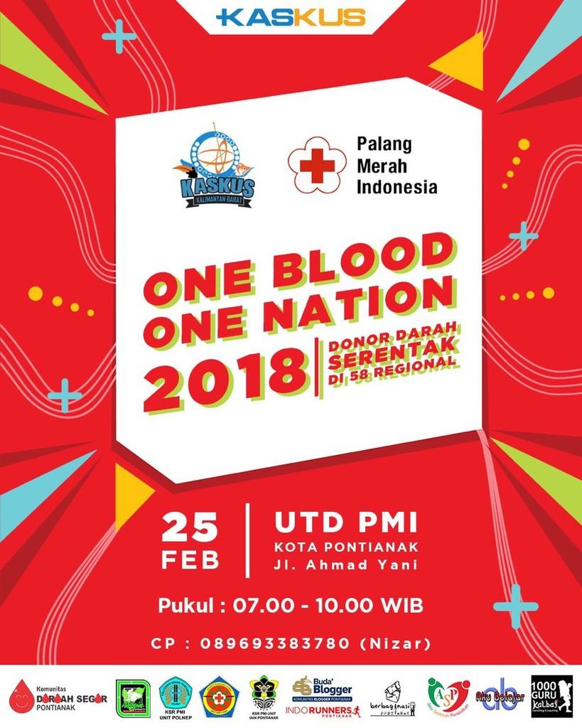 "[FR] KASKUS DONOR DARAH ""One Blood One Nation 2018"" RKB - Part 1"