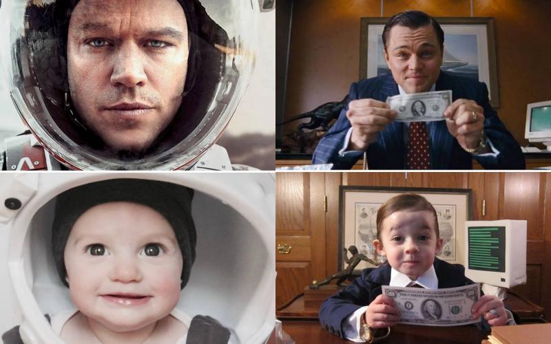 Nggak Kalah sama Adegan Film Asli, 10 Potret Anak Kecil Ini Aktingnya Gemesin!
