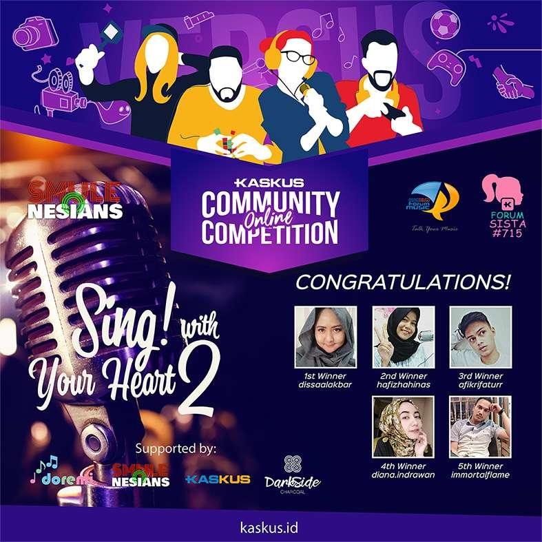 Congratulations! This Is The Winner of Sing! with Your Heart Season 2