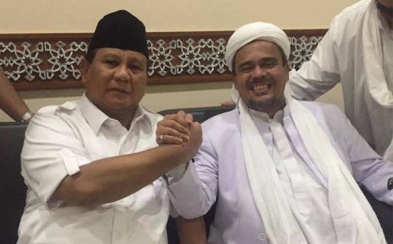 Image result for gerindra habib rizieq