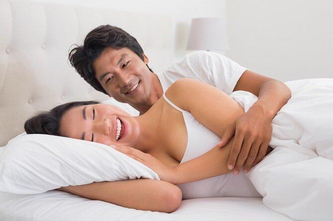Pasangan Bahagia Punya Kebiasaan Seksual Ini
