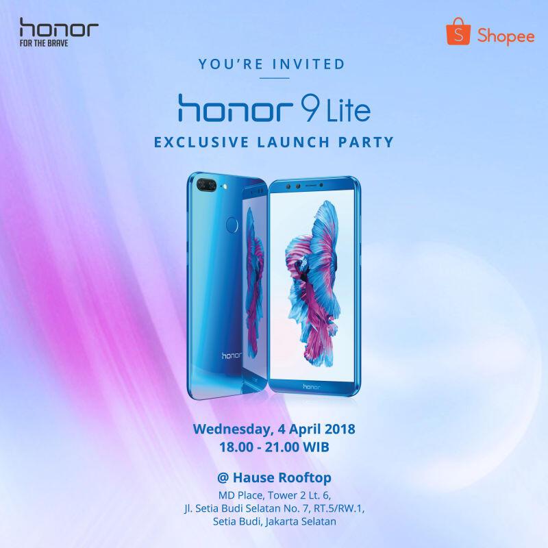 Offline Event Invitation - Honor 9 Lite Flash Sale Exclusive