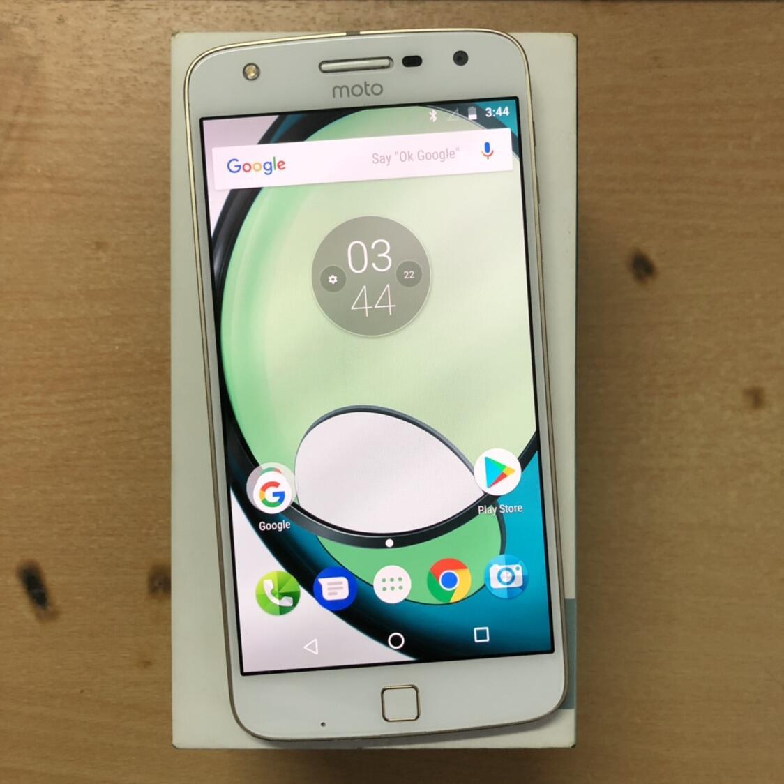 Jual Motorola Moto Z Play Dual White Good Condition Garansi Resmi Fullset Original Kaskus