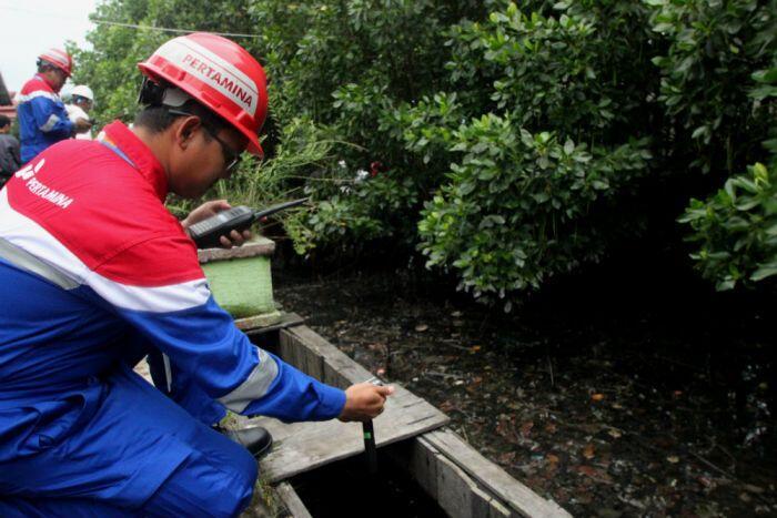 Pertamina disebut akan tanggung kerugian akibat tumpahan minyak