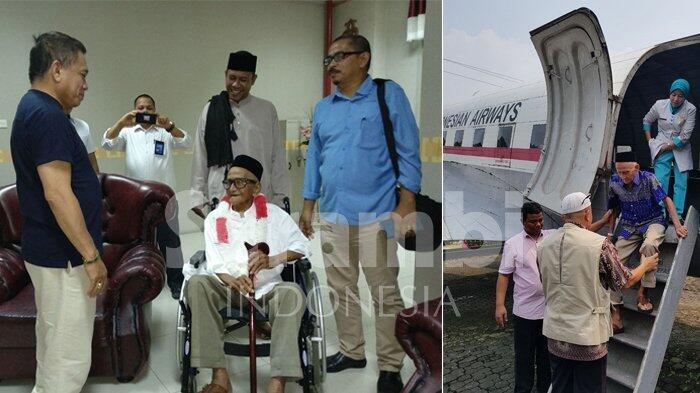 Gubernur Aceh Bersama Warga Sambut Kepulangan Nyak Sandang