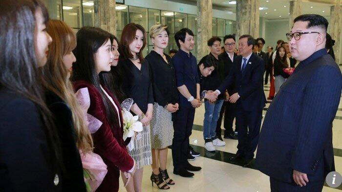 Inikah Alasan Aksi Panggung Red Velvet di Korea Utara Tak Disiarkan Media Lokal?