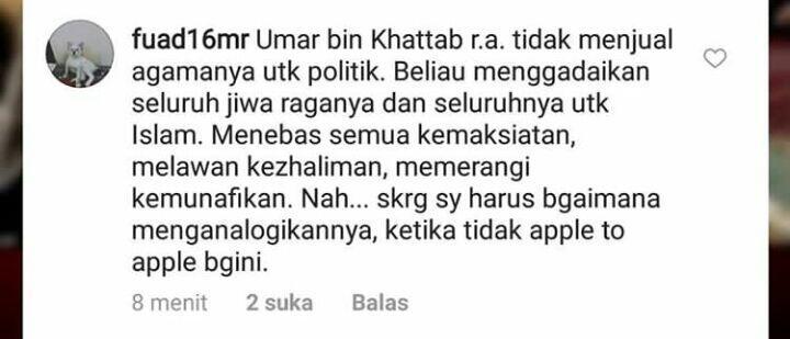 #2019GantiPresiden, PDIP: Jokowi Seperti Umar Bin Khattab