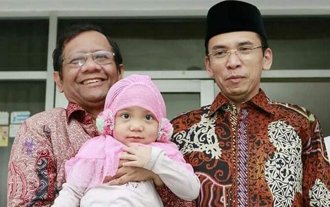 Kunjungan Mahfud MD di Lombok