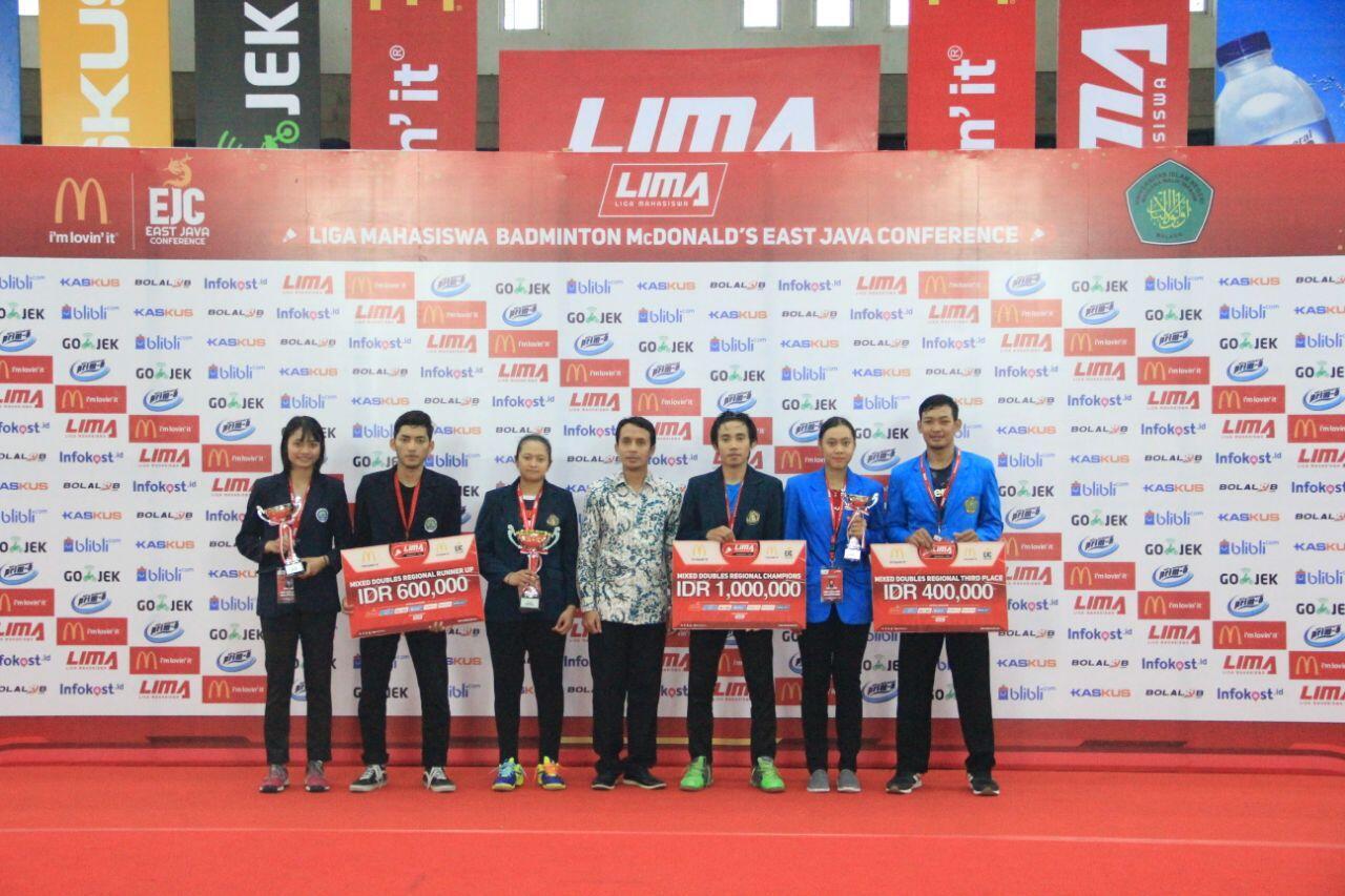 Ikhtisar LIMA Badminton: McDonald's EJC (Malang Subconference) 2018