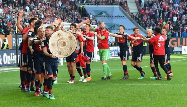 Bayern Munich Raih Gelar Bundesliga Keenam Secara Beruntun