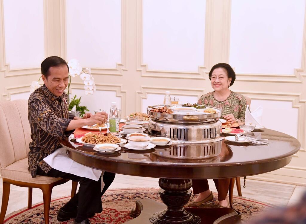Pramono di antara Megawati dan Jokowi
